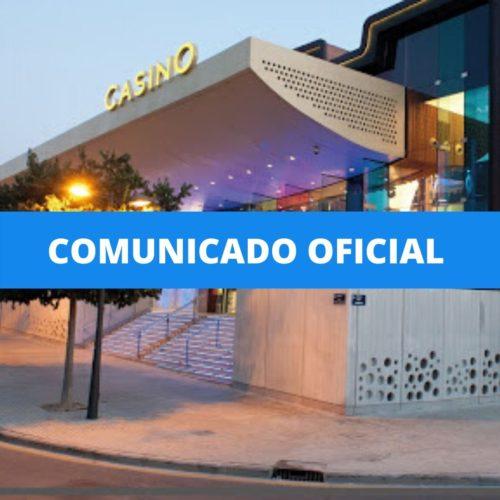 Cierre temporal Casino Cirsa Valencia