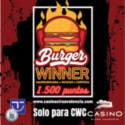 Burger Winner solo para Cirsa Winner Club