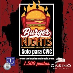 Burger Nights solo para Cirsa Winner Club