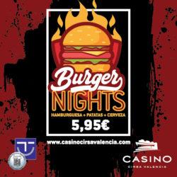 Burger Nights por 5,95€
