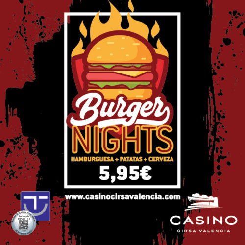 Burger Nights por 5,95€