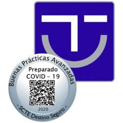 Sello SICTED Buenas Prácticas Protección COVID-19