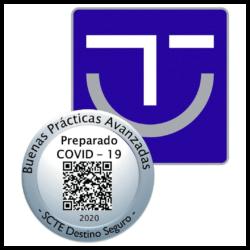 Sello SICTED Buenas Prácticas Protección COVID-19 y MEDIDAS