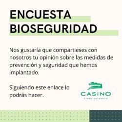 Encuesta Bioseguridad