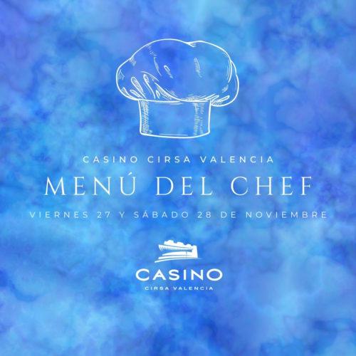 Menú del Chef del 27 al 28 de Noviembre