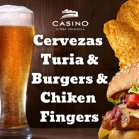 Combo Cubo 4 Turias & 2 Burgers & Chicken Fingers