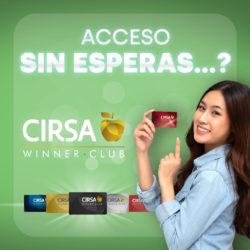 Acceso Express y parking gratis